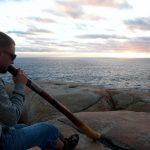Philipp Gerisch - Didgeridoo in der Natur - Australien