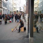 Philipp Gerisch - Straßenmusik in Basel, Schweiz, 2015.
