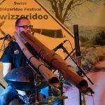 Philipp Gerisch - Live auf dem Swizzeridoo in Bern, Schweiz, 2018. (Foto: Cornelia Lampart, Foto 4)