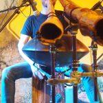 Philipp Gerisch - Live auf dem Swizzeridoo in Bern, Schweiz, 2018. (Foto: Shen Jin Song, Foto 3)